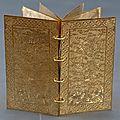 Exposition de livres en métal de la dynastie des nguyên