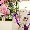 Color moodboard challenge # rose et vintage #