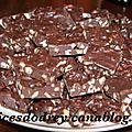 Fudges chocolats et noix de pécan