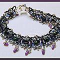 Bracelet kaya réduit de moitié.