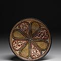 Coupe à la rosace, nichapour ou samarcande, art samanide, 10e siècle