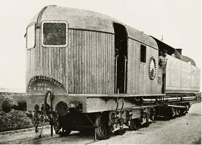 Au HAVRE dès 1892: une ancêtre du turbotrain et du Spacetrain