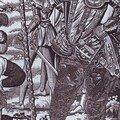 Portrait de françois d'anjou sur l'une des