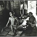 Baking-the-matza, Alibag, India. 1986