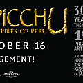 '<b>Machu</b> <b>Picchu</b> and the Golden Empires of Peru' to make its world premiere at the Boca Raton Museum of Art