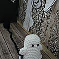 Halloween : fantôme au crochet