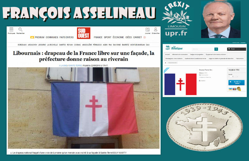FA FRANCE LIBRE DRAPEAU