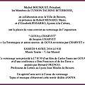 GOYA À BÉZIERS - <b>JACQUES</b> <b>CHARVET</b> EXPOSE