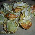 <b>Gratin</b> de tortellini au gorgonzola