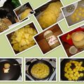 Verrines mousse de fromage blanc à l'ananas
