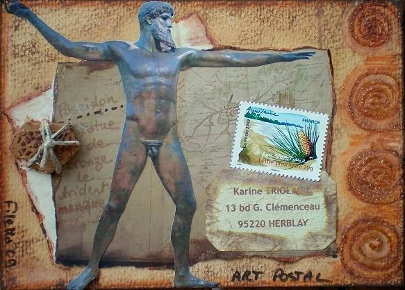 234~Dieux Grecs Poseidon pour Kreanat