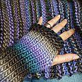 mitaine en laine terre neuve