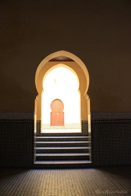 ©05_accès 1ère cour Moulay Ismaïl_Mekhnes