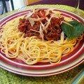 Spaguettis de la belle et le clochard