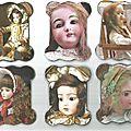 cartonnettesles poupées anciennes