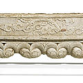 A carved marble <b>architectural</b> frieze, Ming dynasty (1368-1644)