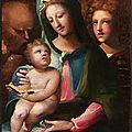 Domenico Beccafumi, <b>Holy</b> <b>Family</b>, 1540–1549