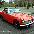 austin healey sprite mkii roadster (1964-1966)(retrorencard janvier 2012)