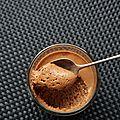Mousse au chocolat et au caramel