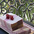 Daring bakers: rosewater and rasberry battenberg cake