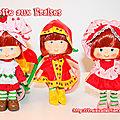 Mes trois petites Charlotte aux Fraises <b>Altaya</b> [comparatif]