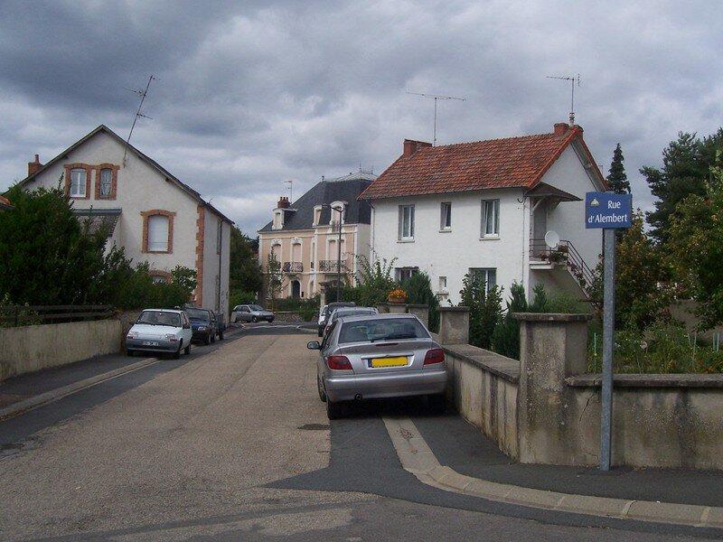 Rue d'Alembert