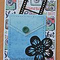 <b>Passion</b> <b>Cartes</b> <b>Créatives</b> - défi 623 : une poche !