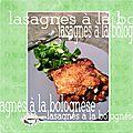 Lasagnes à la bolognaise/bolognèse