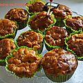 Muffins comme un tajine de poulet