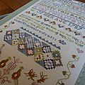 Mary glover sampler terminé...