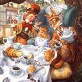 Du thé dans l'encrier