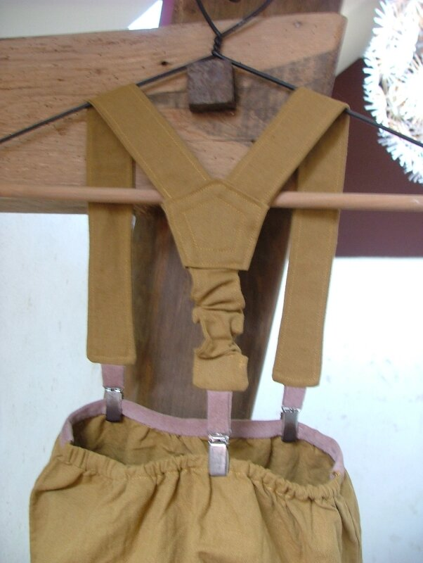 Bragou braz calixte des intemporels avec bretelles