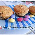 Muffins aux smarties