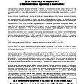 La loi travail xxl, c'est toujours non, la cgt,fo,fsu,solidaires,unet appellent a la mobilisation le 16 novembre 2017