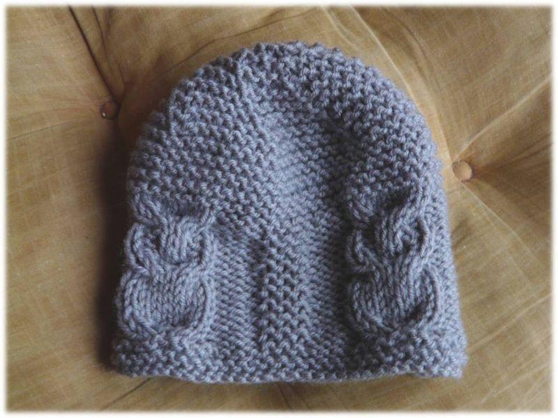 tricoter un bonnet chouette
