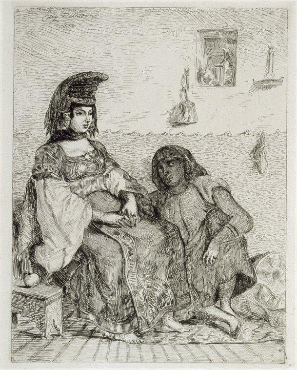 Juive de Tanger_Eugène Delacroix