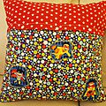 Coussin super heros 2