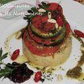 polenta aubergine tomate