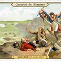 Chromo la chute de Quiberon (16 juillet 1795)