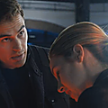 Tris and Tobias Divergent movie first look