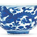 A blue <b>and</b> white cup, <b>Mark</b> <b>and</b> <b>period</b> <b>of</b> <b>Wanli</b> (1573-1620)