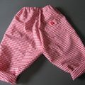 2 pantalons fillette