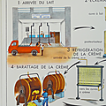 Collection ... <b>AFFICHE</b> La ferme d'Elevage / La Laiterie