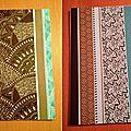 Créer ses propres cahiers