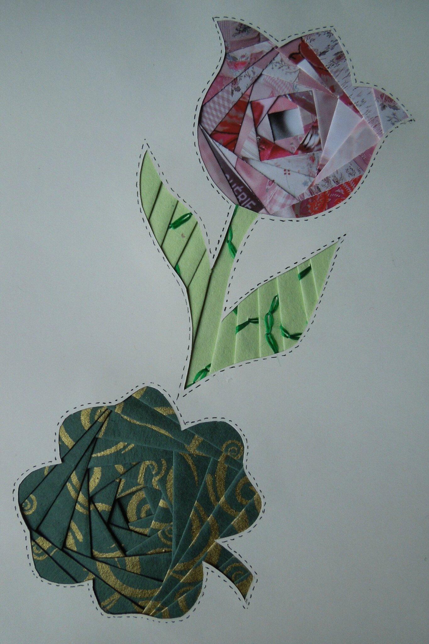 iris folding 0111
