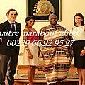 Maitre marabout voyant, médium africain, voyance par consultation du fa maraboutage