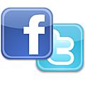 Retrouvez nous sur facebook et twitter