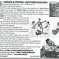 Southern Sessions chroniqué dans <b>Big</b> <b>Bear</b>