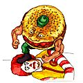 Food fighters vs ronald