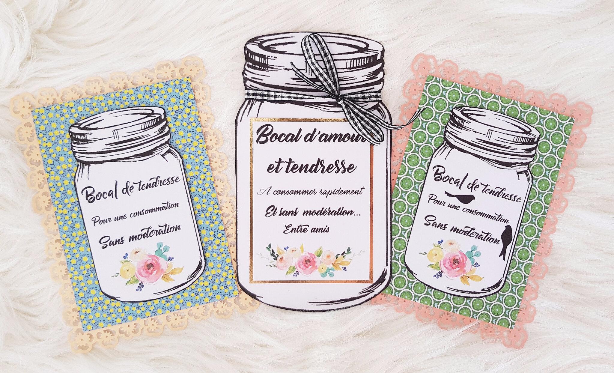 vanillejolie carte bocal